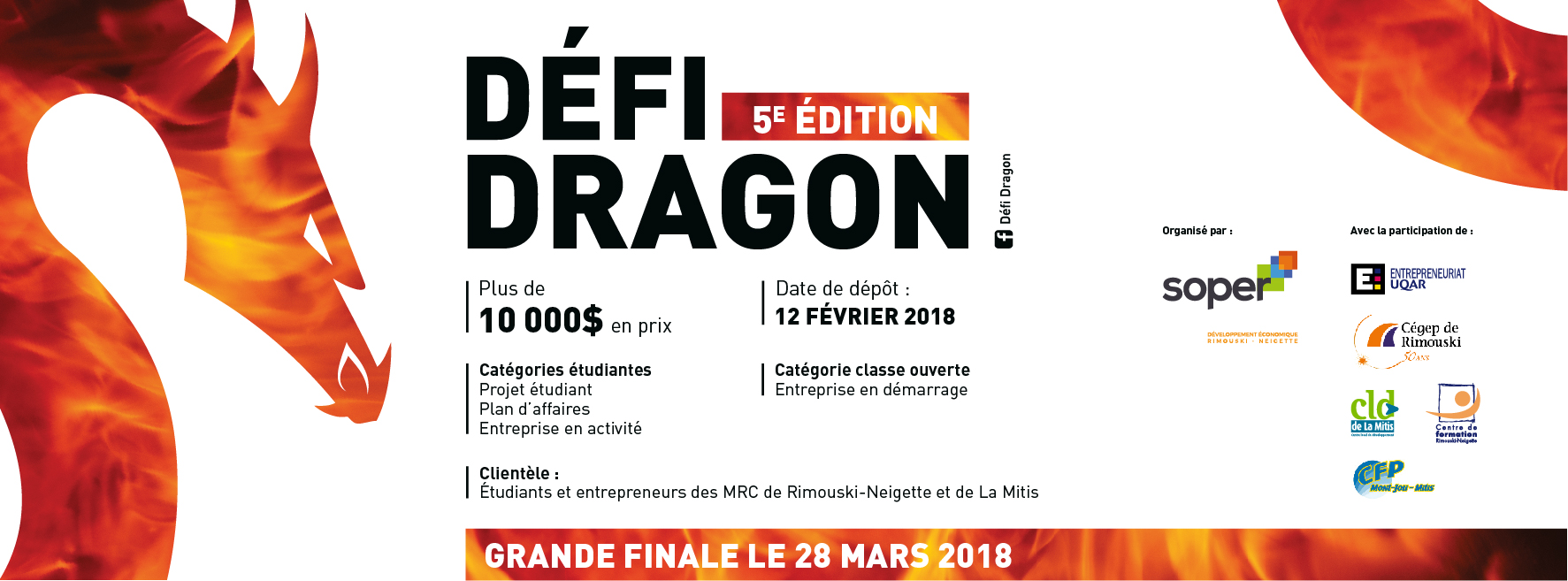 Défi Dragon - Facebook